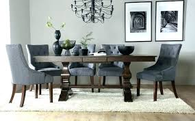 Black Dining Room Table And 8 Chairs Round Tables For Sets