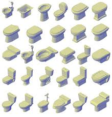 Bathroom Cad Blocks Plan by 3d Toilet Cad Collection Cadblocksfree Cad Blocks Free