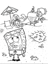 Funny Spongebob Coloring Pages Printable