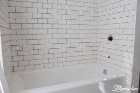 Tiling A Bathtub Skirt by Bathroom Impressive Subway Tile Tub Surround Panels 118 Img