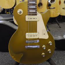 Gibson Les Paul Tribute 60s Goldtop Relic W Hard Case