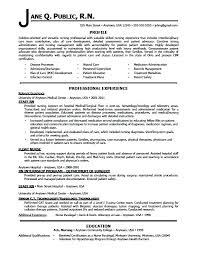 Sample Resume For Nurses With Experience Nursing E Examples Registered Nurse Samples Free Tips And Medical No