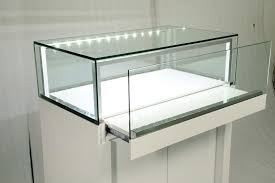 Manufacture Jewellery Display Showcase With LED Lighting For Jewelry Store