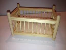 chambre bébé bois naturel lit barreaux bebe bois naturel