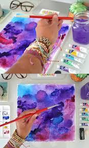 DIY Watercolor Art From The Pura Vida Bracelets Blog