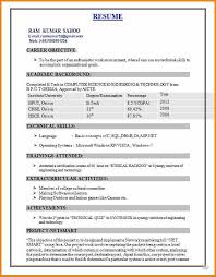 Best Resume For Freshersbest Ideas Of Sample Engineering Students Freshers Also Format B Tech