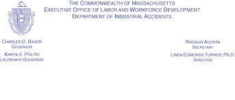 THE COMMONWEALTH OF MASSACHUSETTS Department Of Industrial Accidents