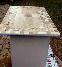 mosaic tile countertop has sharp edges hometalk