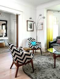 chevron curtains living room impeccable accent appearances with