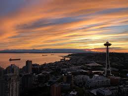 100 Beautiful Seattle Pictures A Beautiful Sunset WA