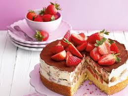 erdbeer tiramisu torte perfekt zum muttertag