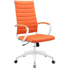 Modway Jive Ribbed High Back Tall Executive Swivel Office Chair With Arms  In Orange Merax Orange High Back Gaming Chair With Lumbar Support And Headrest Cougar Armor S Luxury Breathable Premium Pvc Leather Bodyembracing Design Mid Century Modern Highback Lounge Revive Modern In Highback Swivel Black With Racing Style Ergonomic Office Desk By Morndepo Xl Executive Ribbed Pu Computer Gothic Inspired Velvet Throne Task Global Ding Chairs Upholstered Angelic Vini Furntech Gromalla Mesh Akracing Nitro Robus High Back From Stylex Architonic Video Bucket Seat Footrest Padding