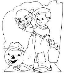 Coloring Pages For Kids Halloween Printable