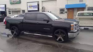 877 544 8473 24 Inch DUB Baller S116 Black 2014 Chevy Silverado