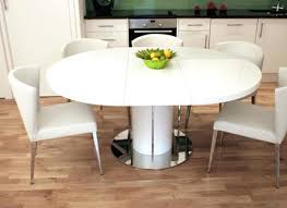 Dining Tables White Round Extendable Table And Chairs Good