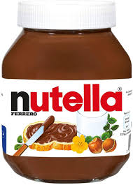 nutella nutella nutella ausbreitung schokolade haselnüsse