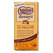 chocolat dessert praliné de nestle avis et tests confiseries