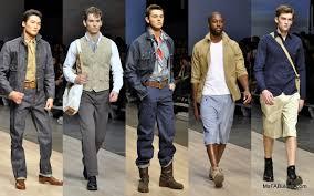 Modern Vintage Clothing Men Fashion Around Us