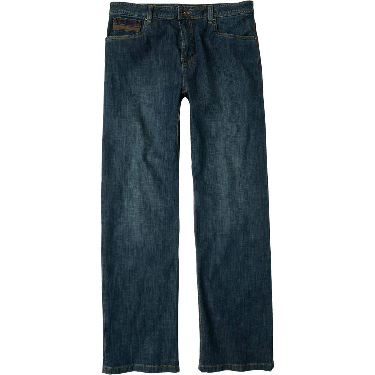 prAna Men's Axiom Jean 32 in. Inseam Antique Stone Wash 38