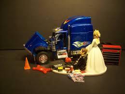 100 Semi Truck Cake Peterbilt Wedding Topper Mechanic S