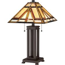 Quoizel Tiffany Lamp Shades by Quoizel Tf2095trs Table Lamp Tiffany Russet