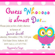 Baby Shower Cards Samples by Baby Shower Invitations Sample Design Invitations Mughals
