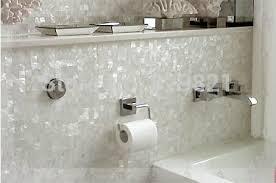 white shell mosaic tile for washbasin kitchen tv