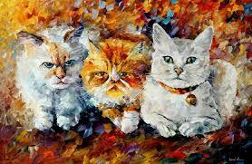 Buy Original Paintings Art Famous Artist Biography Official Page Online Gallery Large Artwork Fine Tiger Animal Pet Grace Killer Cat