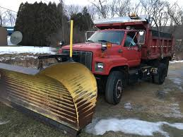 100 Truck With Snow Plow 1995 Chevrolet Kodiak Dump Truck With Snow Plow And Sander T M
