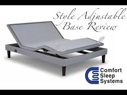 style adjustable base review youtube