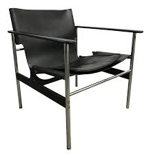 Knoll Pollock Chair Vintage by Lovely Model 657 Sling Lounge Chair By Charles Pollock For Knoll