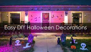 Diy Halloween Pathway Lights by Easy Diy Halloween Decorations Blisslights