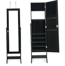 Interior. Black Jewelry Armoire - Faedaworks.com Wall Decor Pretty Cherry Wood Powell Nostalgic Oak Jewelry Mount Armoire Kohls Home Decators Collection Oxford Mirror Style Guru Fashion Glitz Glamour Ideas Inspiring Stylish Storage Design With Big Lots Box Armoires Best Of Bedroom Cool Black Drawers And Double Fniture Keep You Tasured Safe Secure Lock Haing Photo Picture Frame Free Standing Earring Organizer