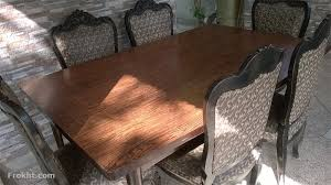 Dining Table And 6 Chairs Chiniot Made