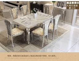 dining table sets marble dining table 4 chairs modern stylish