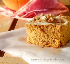 Pumpkin And Cake Mix Weight Watchers by Pumpkin Spice Cake A Simple One Bowl Recipe Cooking With Libby
