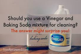 Unclogging Bathtub With Baking Soda by Is A Vinegar And Baking Soda Mixture Effective For Cleaning