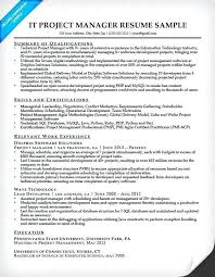 Free Project Management Resume Elegant Template Software Development Manager