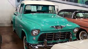 100 1955 Chevy Truck Restoration Chevrolet 3100 Pickup 265 V8 Nicely Restored YouTube