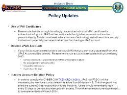 jpas updates 9 july 2014 steve burke ppt download