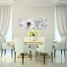 bilder blumen pusteblume wandbild 100 x 40 cm vlies leinwand