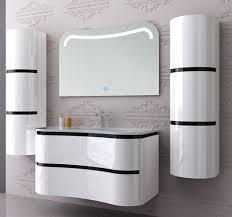 badmöbel set weiss hochglanz badezimmermöbel 5 teilig bad 90 cm