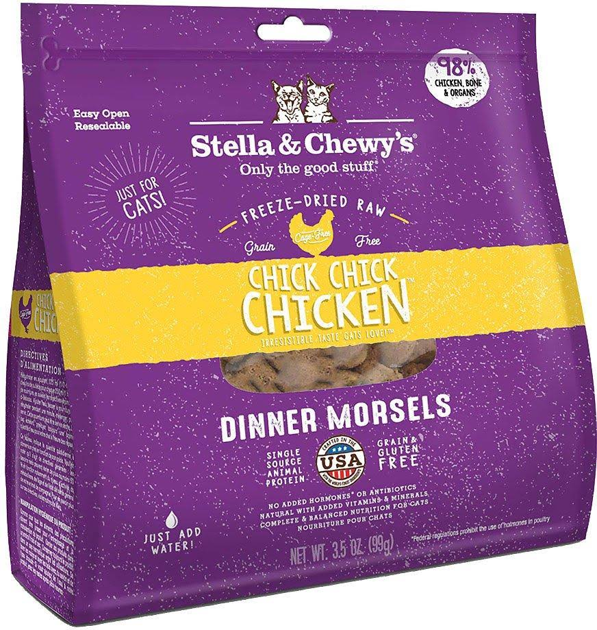 Stella and Chewy's Cat Food - Chick Chick Chicken Dinner Morsels