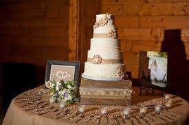 Rustic Wedding Cake Table I Like The Frames And Candles On