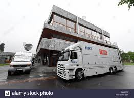 100 Public Service Truck Rental 16 May 2018 Germany Karlsruhe Broadcast Vans Among Others Of The