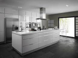 ilot central cuisine design cuisine design blanche avec ilot central cuisine idées de
