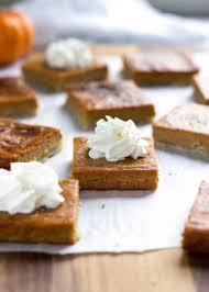 Bake Pumpkin For Pies by Slab Pumpkin Pie Bars Kevin Is Cooking