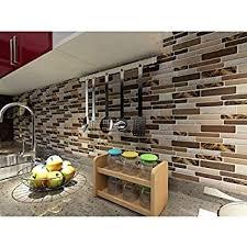 Adhesive Backsplash Tile Kit by Amazon Com Peel U0026 Stick Tiles 15 Ft Backsplash Kit Rome Home