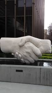 Spirit Halloween Sacramento Arden by This Is The Shaking Hands Sculpture In Front Of 555 Capitol Mall