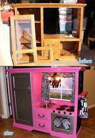 cuisine télé transform tv furniture into mini kitchen for children